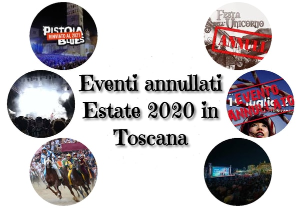 Eventi annullati Toscana Estate 2020