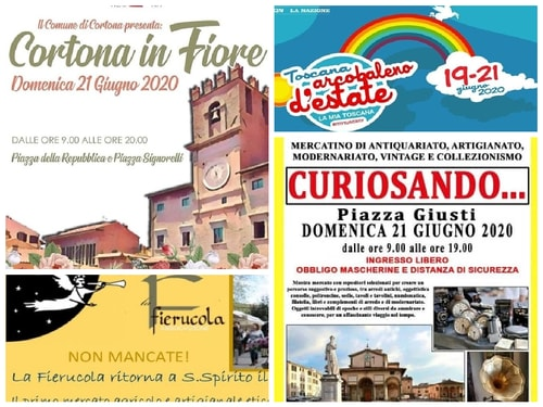 Eventi Toscana weekend 19 21 giugno 2020