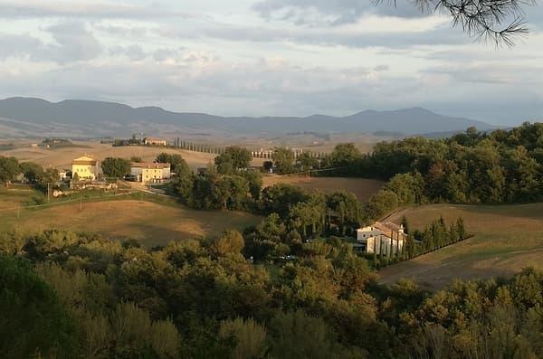 Panorama Bagno Vignoni