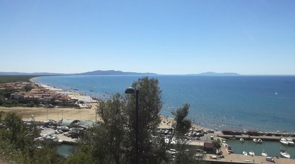 Panorama Castiglione della Pescaia
