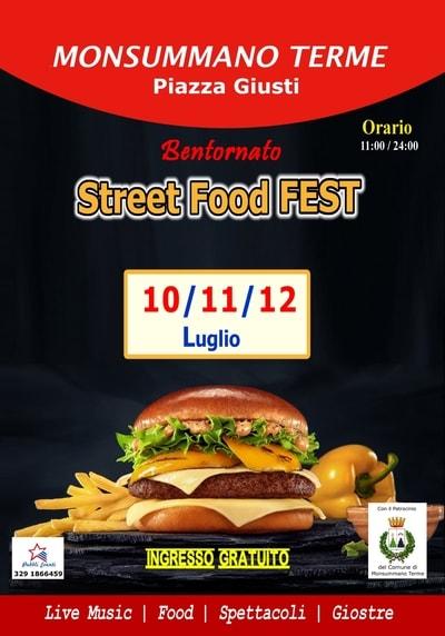 Street Food Fest Monsummano Terme