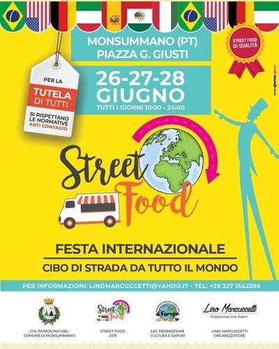Street Food Monsummano Terme 2020