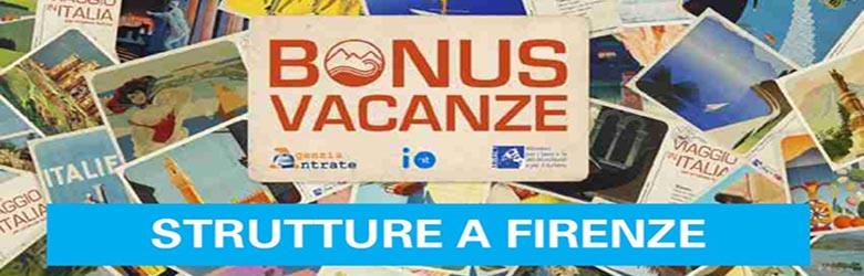 Bonus Vacanze Strutture a Firenze - Dove Usarlo