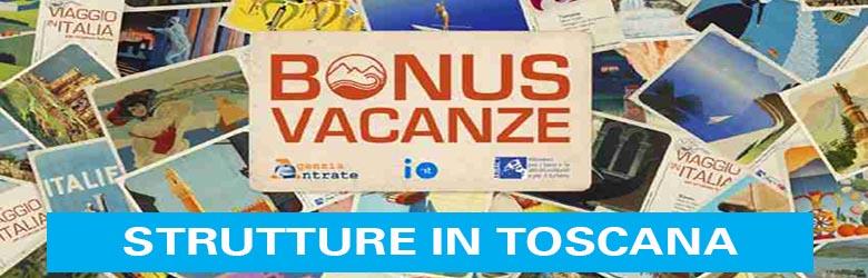 Bonus Vacanze Strutture in Toscana - Decreto Rilancio
