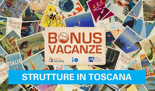 Bonus Vacanze Strutture in Toscana
