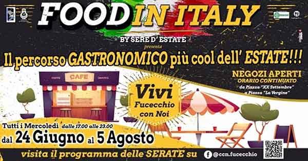 Fucecchio Estate 2020 - Food in Italy