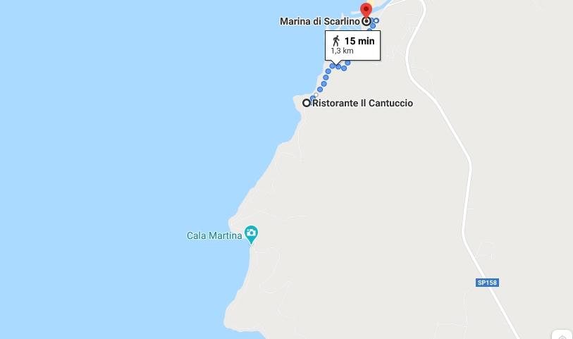 Come arrivare a Cala Martina