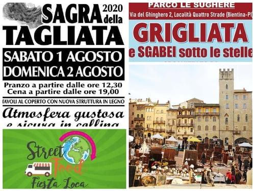 Eventi Toscana primo weekend agosto