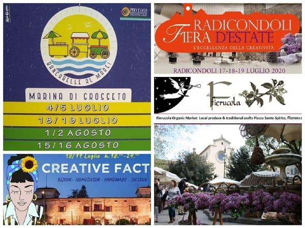 Eventi Toscana Terzo Weekend Luglio 2020