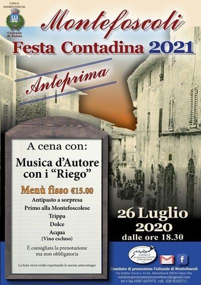 Festa della Civilta Contadina Montefoscoli 2020