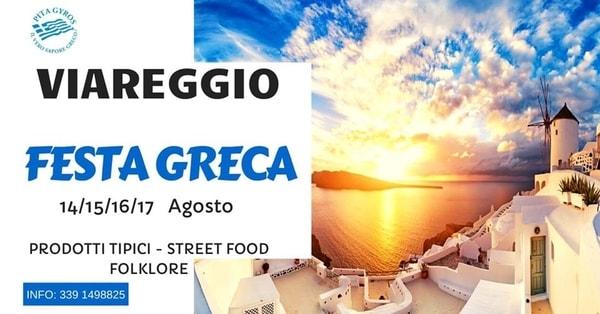 Festa Greca Viareggio 2020