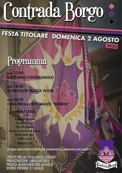 Feste Titolari Castel Del Piano