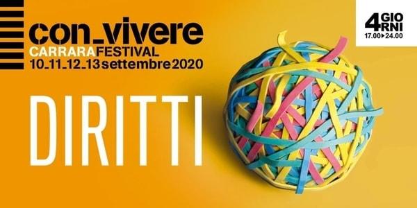 Festival Convivere Carrara 2020