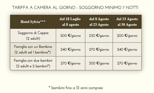 Offerte Mare Toscana All Inclusive