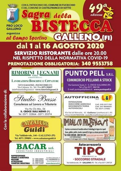 Sagra Bistecca Galleno 2020