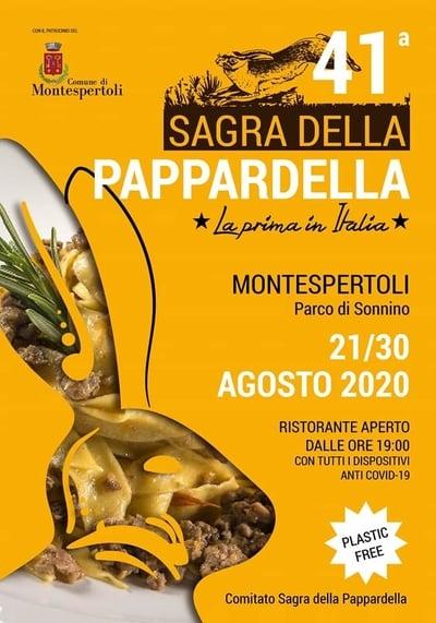 Sagra Pappardella Montespertoli 2020