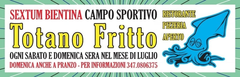 Sagra Totano Fritto Bientina 2020
