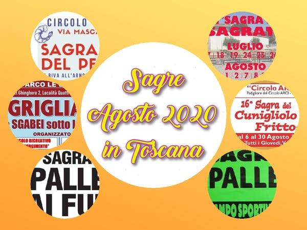 Sagre Agosto 2020 Toscana