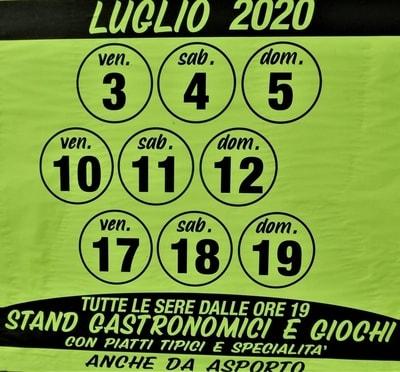 Sagre Pisa Estate 2020