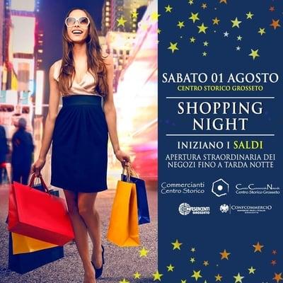 Shopping Night Grosseto 2020