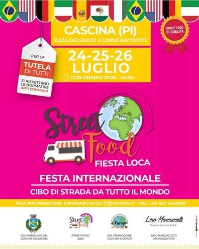 Street Food Cascina Luglio 2020