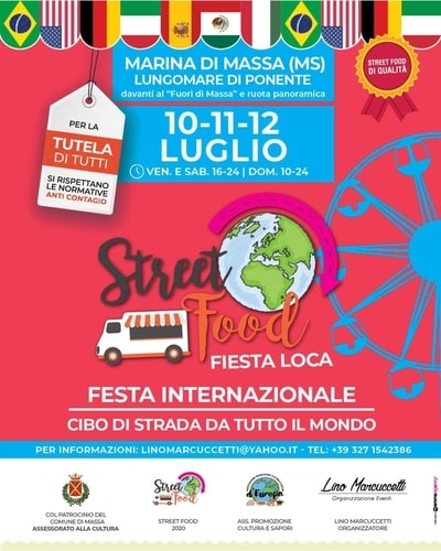 Street Food Marina di Massa 2020