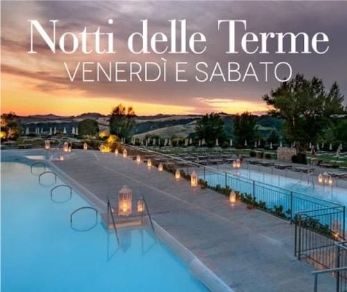 Terme aperte di sera Toscana