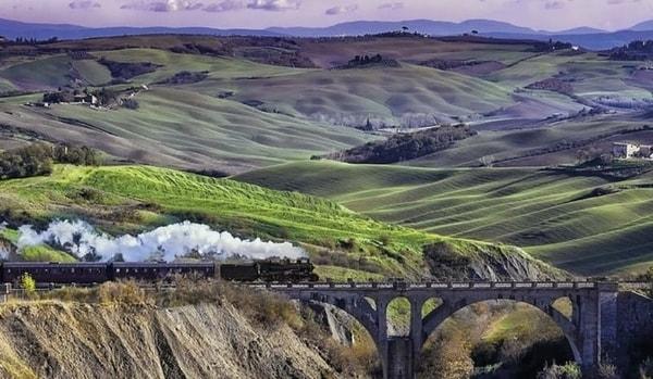 Treno Vapore Siena 2020