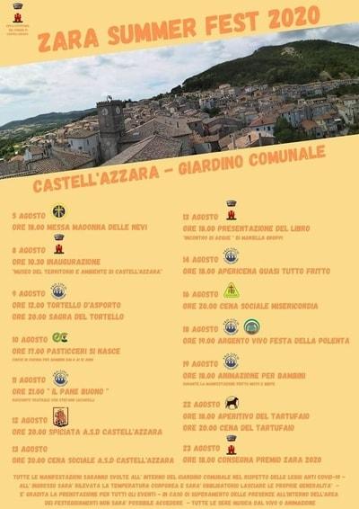Zara Summer Fest Castell Azzara 2020