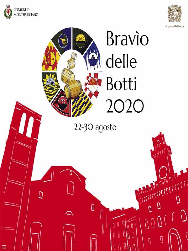 Bravio delle Botti 2020 Montepulciano