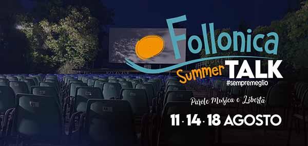 Follonica summer talk 2020 - Eventi Spettacoli Estate