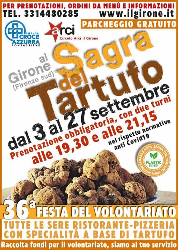 Sagra del Tartufo 2020 Firenze Sud Località Il Girone