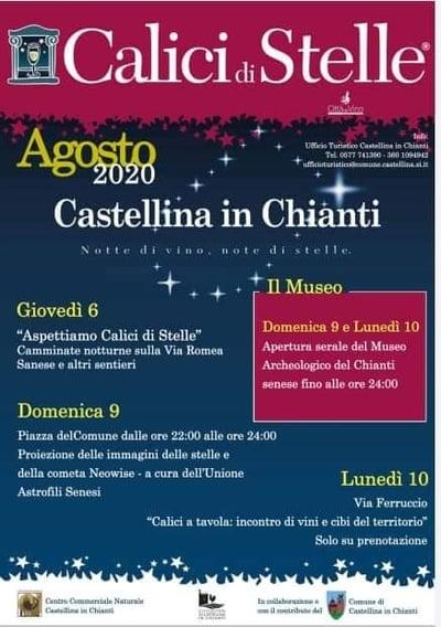 Calici di Stelle Castellina in Chianti 2020