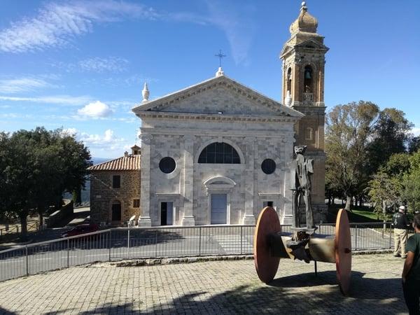 Chiesa della Madonna del Soccorso a Montalcino