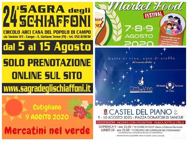 Eventi Agosto Toscana