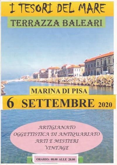 Eventi Marina di Pisa Settembre 2020