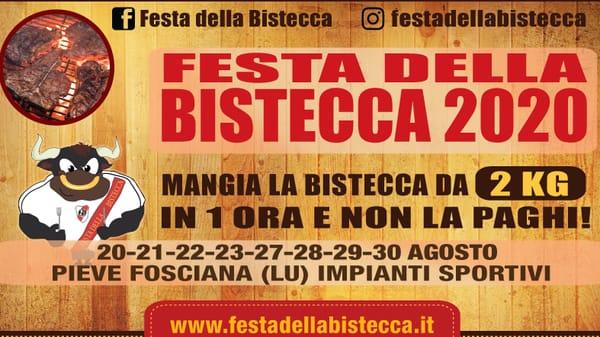 Festa della Bistecca Pieve Fosciana 2020