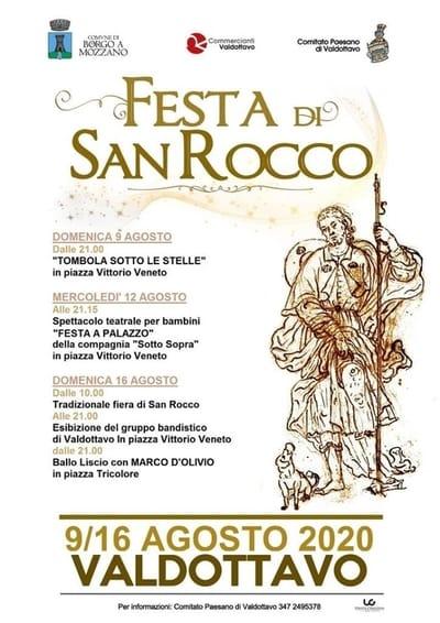 Festa di San Rocco Valdottavo 2020