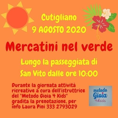 Mercatini Cutigliano 9 agosto