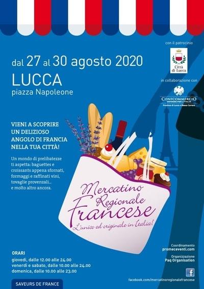 Mercatino Francese Lucca Agosto
