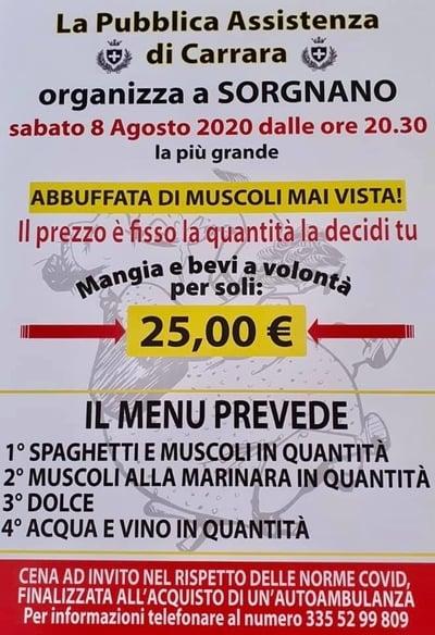Muscolata Sorgnano 2020