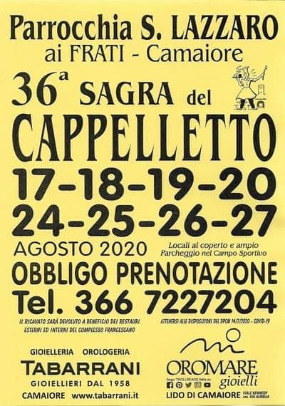 Sagra Cappelletto Camaiore 2020