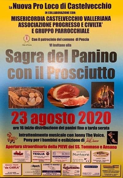 Sagra Panino Prosciutto Castelvecchio