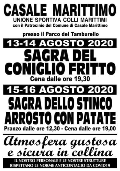 Sagra Stinco Arrosto Casale Marittimo 2020