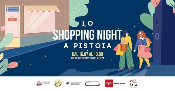 Shopping Night Pistoia 2020