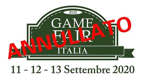 Annullata Game Fair 2020 a Grosseto