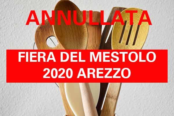 Facebook Fiera del Mestolo 2020 Arezzo - Annullata