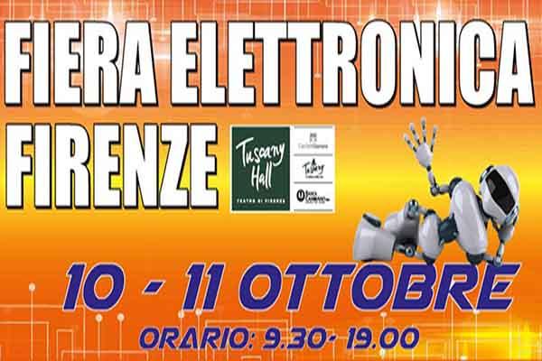 Fiera dell'Elettronica a Firenzo Ottobre 2020 - Tuscany Hall