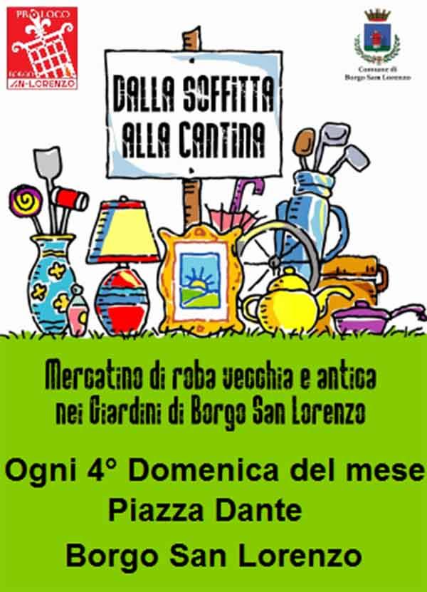 Manifesto Dalla Soffitta alla Cantina a Borgo San Lorenzo 2020
