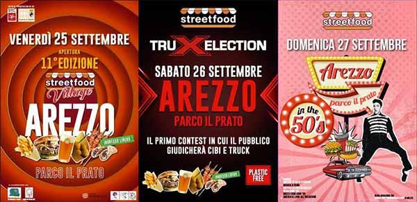 Manifesto Street Food Village Arezzo 2020